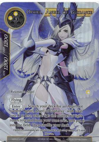 Ophiel, Angel of Guidance - NDR-014 - SR - Full Art