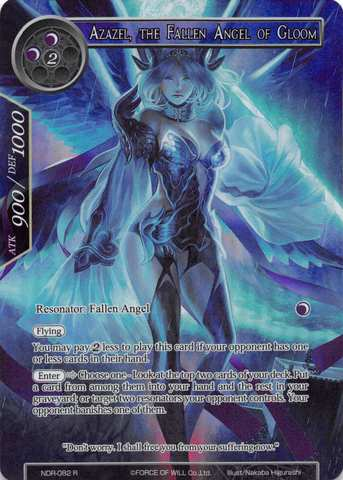 Azazel, The Fallen Angel of Gloom - NDR-082 - R - Full Art