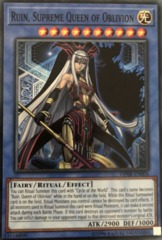 Ruin, Supreme Queen of Oblivion - OP08-EN004 - Super Rare - Unlimited Edition on Channel Fireball