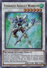Stardust Assault Warrior - CT15-EN008 - Ultra Rare - Limited Edition