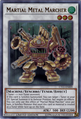 Martial Metal Marcher - CT15-EN009 - Ultra Rare - Limited Edition