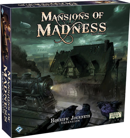 Mansions of Madness 2nd Edition - Horrific Journeys Expansion