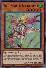 Majesty Maiden, the True Dracocaster - MP18-EN004 - Ultra Rare - 1st Edition
