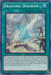 Dragonic Diagram - MP18-EN015 - Secret Rare - 1st Edition