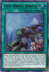 True Draco Heritage - MP18-EN016 - Ultra Rare - 1st Edition