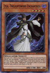 Lyla, Twilightsworn Enchantress - MP18-EN051 - Super Rare - 1st Edition