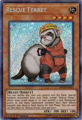 Rescue Ferret - MP18-EN054 - Secret Rare - 1st Edition