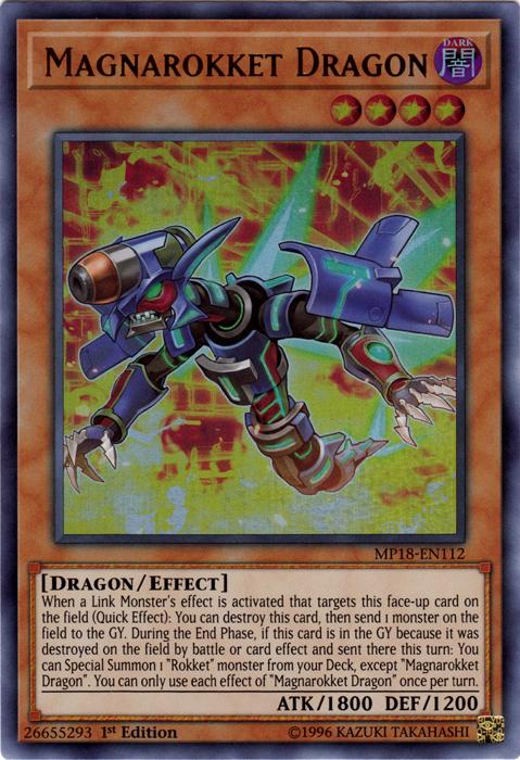 Magnarokket Dragon - MP18-EN112 - Ultra Rare - 1st Edition