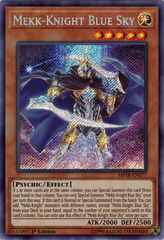 Mekk-Knight Blue Sky - MP18-EN177 - Secret Rare - 1st Edition