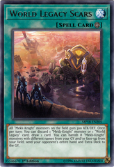 World Legacy Scars - MP18-EN205 - Rare - 1st Edition