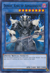 Demise, King of Armageddon - MP18-EN232 - Common - 1st Edition