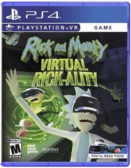 Rick and Morty Virtual Rick-ality