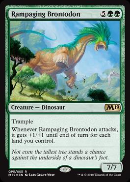 Rampaging Brontodon - Gift Pack 2018