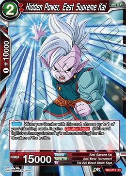 Hidden Power, East Supreme Kai - TB2-012 - UC