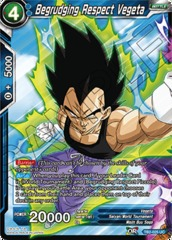Begrudging Respect Vegeta - TB2-025 - UC on Channel Fireball