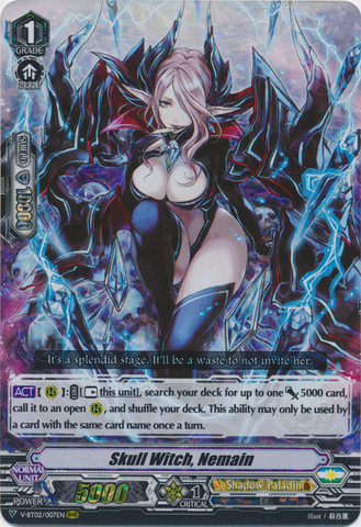 Skull Witch, Nemain - V-BT02/007EN - RRR