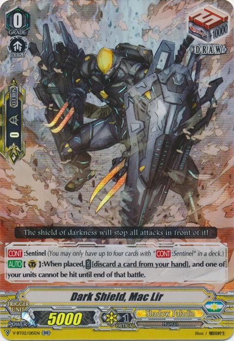 Dark Shield, Mac Lir - V-BT02/015EN - RR
