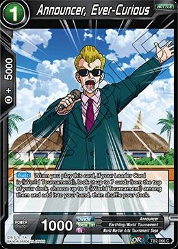 Announcer, Ever-Curious - TB2-066 - C - Foil