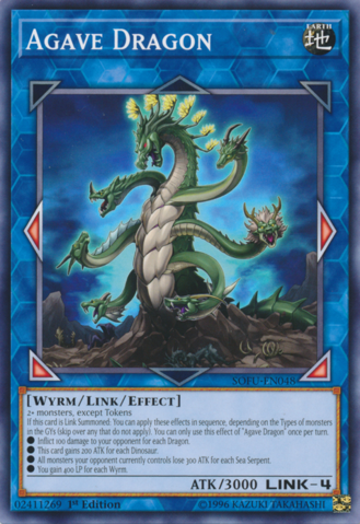 Agave Dragon - SOFU-EN048 - Common - 1st Edition