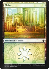 Plains (A10/010) FOIL - Selesnya Ravnica Weekend Promo