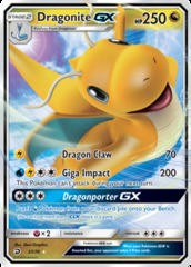 Dragonite GX - 37/70 - Ultra Rare
