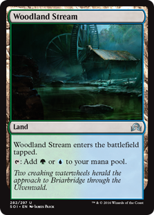Woodland Stream (Shadows Over Innistrad) - Planeswalker Deck Exclusive
