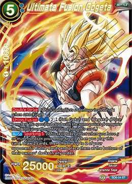 Ultimate Fusion Gogeta - SD6-04 - ST - Foil