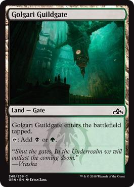 Golgari Guildgate (248) - Foil
