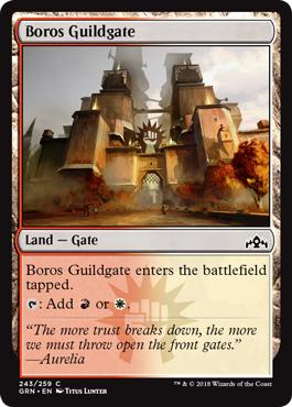 Boros Guildgate (243) - Foil
