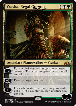 Vraska, Regal Gorgon - Foil - Planeswalker Deck Exclusive