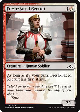 Fresh-Faced Recruit - Foil