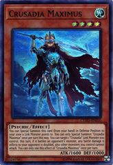 Crusadia Maximus - CYHO-EN010 - Super Rare - Unlimited Edition on Channel Fireball