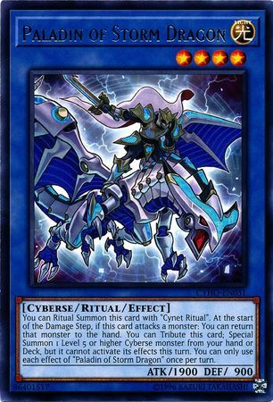 Paladin of Storm Dragon - CYHO-EN031 - Rare - Unlimited Edition