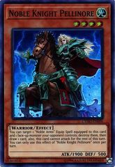 Noble Knight Pellinore - CYHO-EN090 - Super Rare - Unlimited Edition