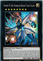 Number 38: Hope Harbinger Dragon Titanic Galaxy - CYHO-ENSE2 - Super Rare - Limited Edition