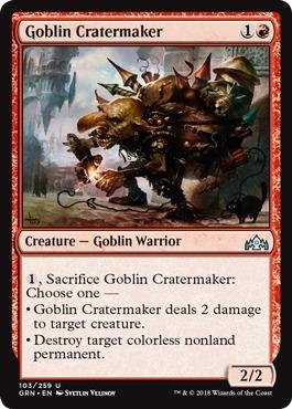 Goblin Cratermaker - Foil
