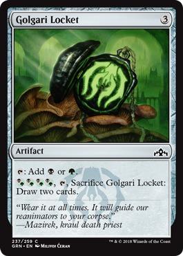 Golgari Locket - Foil
