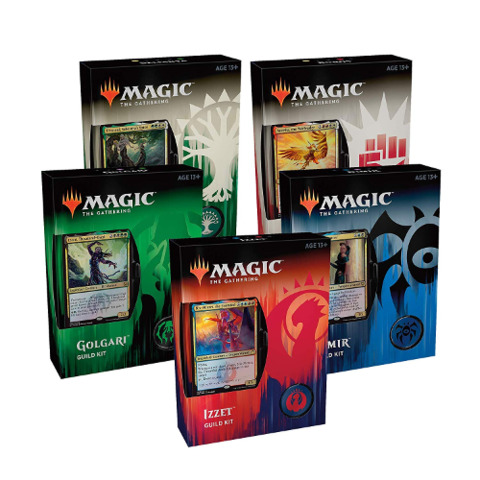 Guilds of Ravnica Guild Kits Set of 5