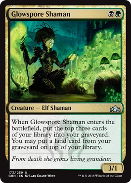 Glowspore Shaman - Foil