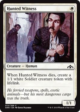 Hunted Witness - Foil