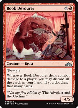 Book Devourer - Foil