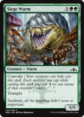 Siege Wurm - Foil