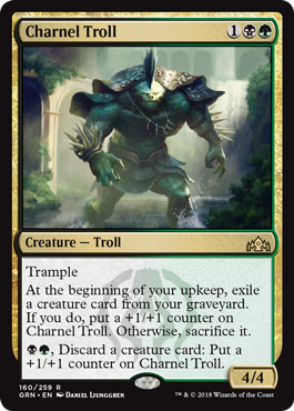 Charnel Troll - Foil