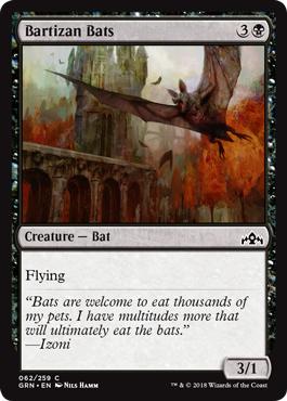 Bartizan Bats