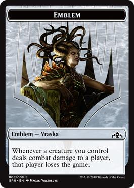 Emblem - Vraska, Golgari Queen