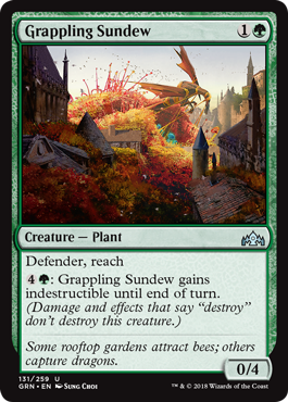 Grappling Sundew