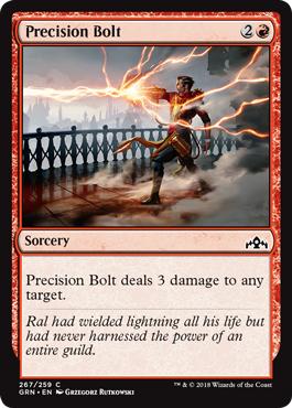 Precision Bolt - Planeswalker Deck Exclusive