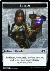 Elspeth, Knight-Errant Emblem Token (G4)