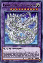 Cyber Eternity Dragon - LED3-EN012 - Ultra Rare - 1st Edition