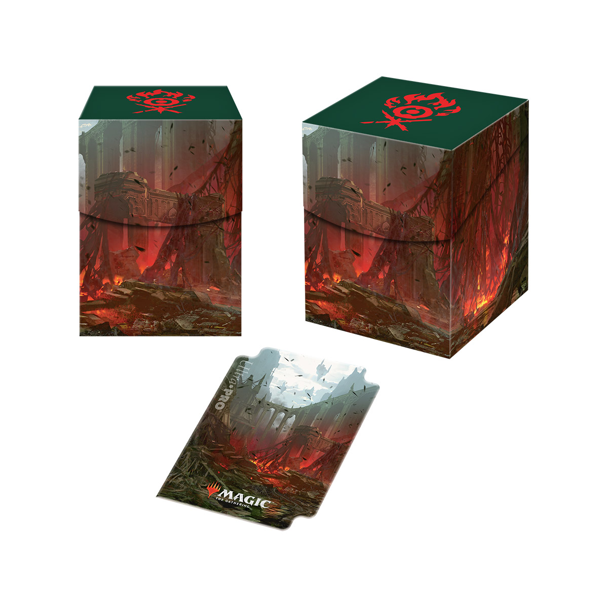 Guilds of Ravnica - Gruul Clans PRO 100+ Deck Box